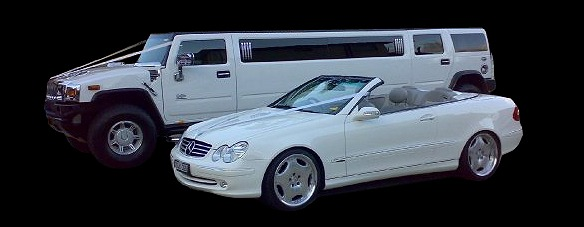 wedding car hire - stretch hummer - mercedes limousines - general limo hire